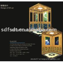 Quarto de máquina menos de elevador de passageiro da tecnologia de japão (FJ8000)