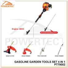 Powertec 4 in 1 Multifunction Garden Tool Set (PT79002)