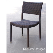 Aluminium Furniture PE Rattan Chair (C208-W)
