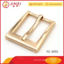 25.2 mm fashion leather belt buckle bag accessories metal decoration