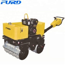 Small double drum vibratory sheep foot roller (FYL-G800C))