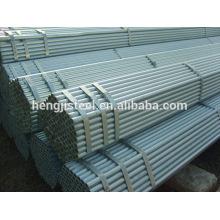 Q235 Tubo de aço-carbono soldado galvanizado ERW
