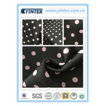 Tissu 100% polyetser imprimé par sergé de robe de polyseter