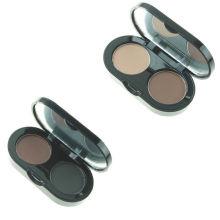 New Fashion Private Label Organic Vegan 4 Colors Custom Logo Eyebrow Powder Waterproof Easy Wearing Brow Powder