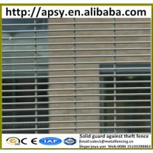 Gros prison maille anti escalade grille clôture haute risque site garde contre la clôture de vol clôtures 358 clôtures de haute sécurité