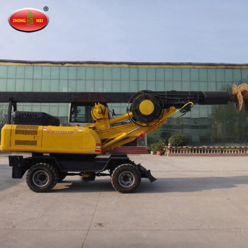 Roda Hydraulic Rotary Screw Pile Equipment