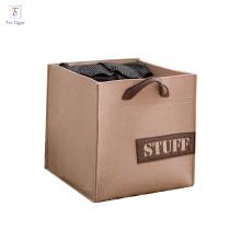 Alibaba Child Kids Foldable Storage Box home decoration Fabric Felt Toy Organizer boxes