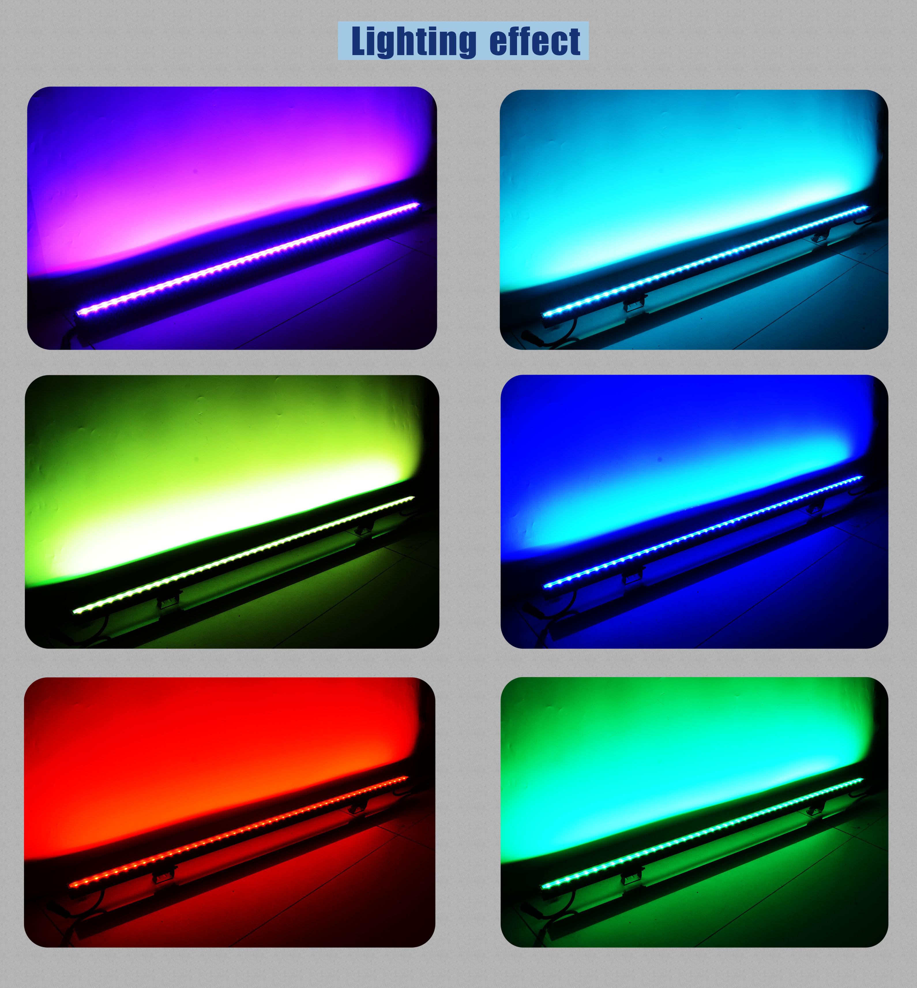 led rigid light lighting effect