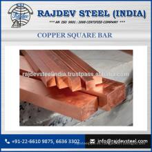 Venta caliente de la barra cuadrada de cobre por los surtidores confiados