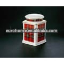 Colorido giftware porcelana jar- 010