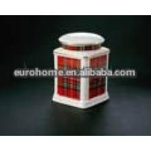 Красочный подарок фарфоровая банка 010