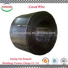 Inoculant and alterant FeSi alloy powder cored wire , ferro silicon cored wire