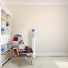 Moderno, simples, acrílico, Cylinder, chão, luz, (fl002-1)