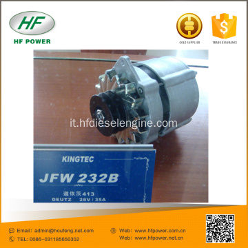deutz parti del motore 413 alternatore 24V