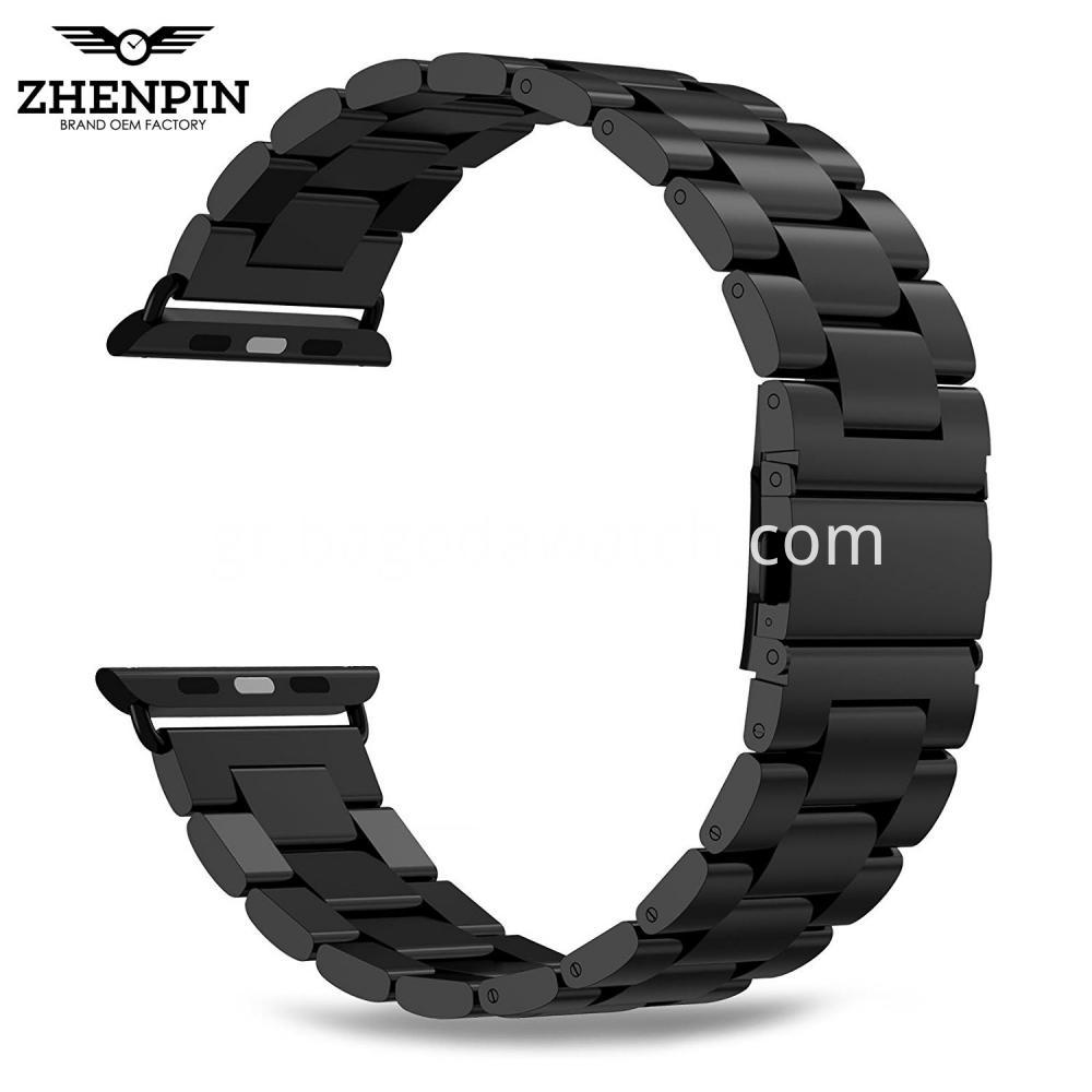 38mm Black Apple Watch Band