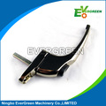 Zinc die casting door handle with chrome plated