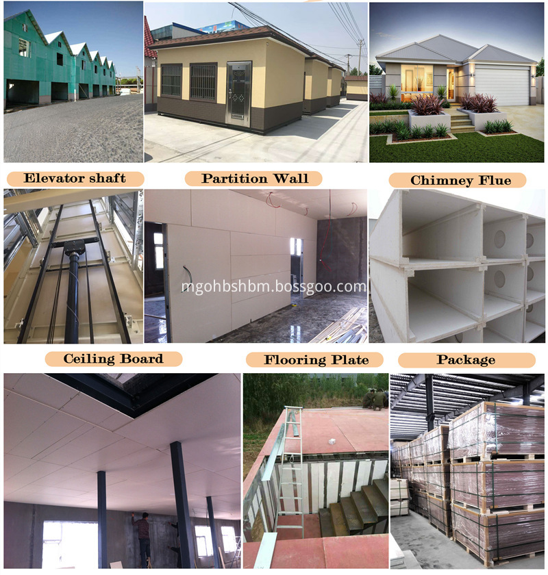 High Strength Fire Proof MgO Wall Panel