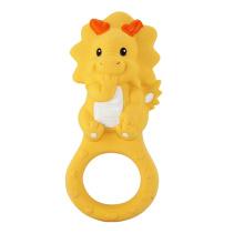 Dragon Teether Toy, brinquedo do dragão do bebê, Teethers de borracha
