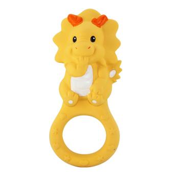 Игрушка дракона Teether, игрушка младенца дракона, резиновые зубы
