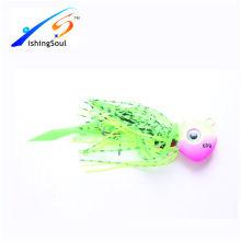 RJL015 рыболовные приманки неокрашенные приманки, джиг приманки резина джиг