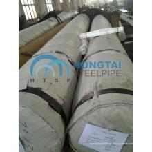 S355j2h Tubes à cylindre Tubes à charbon côtelé En10210