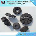 rotor de grafito para desgasificar aluminio fundido