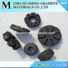 Rotor en graphite pour le dégazage de la fusion de l'aluminium