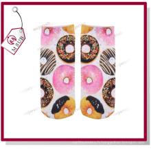 Conception personnalisée de différentes tailles imprimés par Sublimation Polyester chaussettes