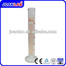 JOAN LAB 250ml Cilindro de medição de base redonda de vidro para uso em laboratório