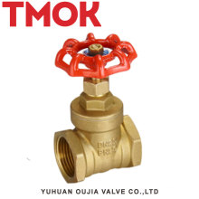 Red handwheel Stem gate valve brass gate valve