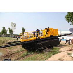 Strong crawling ability-Amphibious Excavators