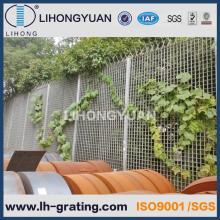 Râper la clôture de sécurité en acier galvanisé