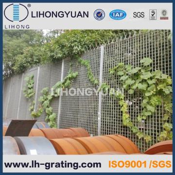 Galvanized Steel Grating Fence for Security