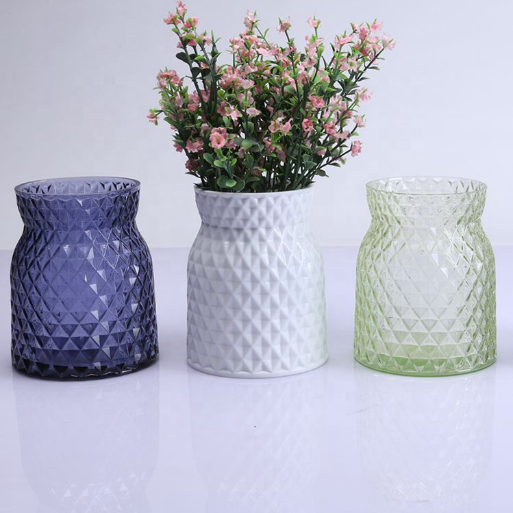 Br 51914handmade Crystal Glass Flower Vase For Home