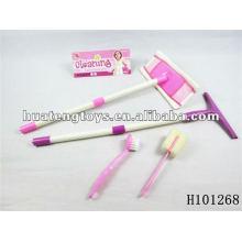 Los juguetes rosados más nuevos limpian el sistema determinado ASTM H101268 de los juguetes del sistema de herramienta de los cabritos