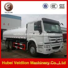 Camion de réservoir d'eau de HOWO 6X4 lourd 20, 000 litres
