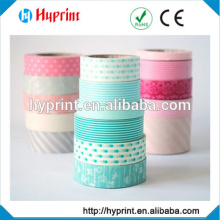 lovey and hot-selling color washi, tape with creative designs