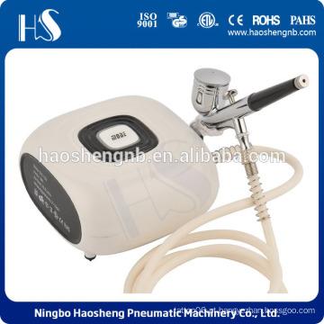 Sistema de maquiagem sistema Beleza Cosméticos 3 nível de pressão ajustável Airbrush Compressor