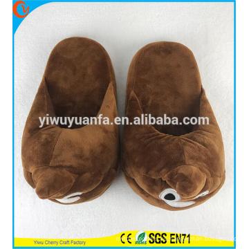 Hot Sell novedad diseño ruidoso zapato de risa emoji zapato sin tacón