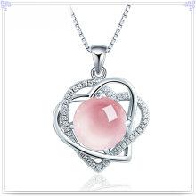 Kristall Halskette Silber Schmuck 925 Sterling Silber Schmuck (NC0084)