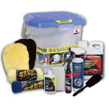 Washing Kits Taiwan Multi- Functional Cleaning Kit Car Shampoo and Aqua Coating Spray  for Car Detailing Sets