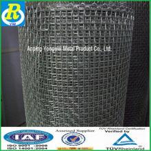 Chine usine shi jia zhuang galvanisé carré maille / panneaux de clôture / clôture en acier / panneaux muraux intérieurs /