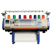44inch 3 gauge jacquard single system computer flat knitting machine