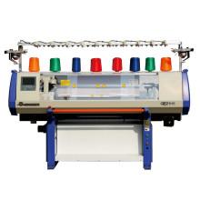 3 de 44 polegadas calibre sistema único do jacquard de máquina de confecção de malhas lisa computador