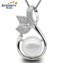 Fashion Pearl Pendant 9-10mm AAA Button Pearl Lucky Pearl Pendant