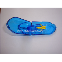Promotional Plastic Pillbox With Cutter