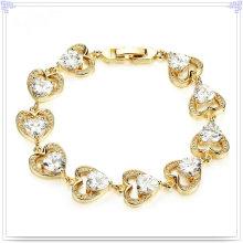 Accessoires de mode Bracelet en cuivre Bijoux en cristal (AB287)