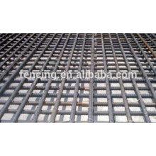 Caillebotis en acier de construction de pont / maille en acier de vis / maille en acier de construction