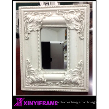 Wood carving frames bulk around mirrors custom cheap / professional wood frames supplier in China