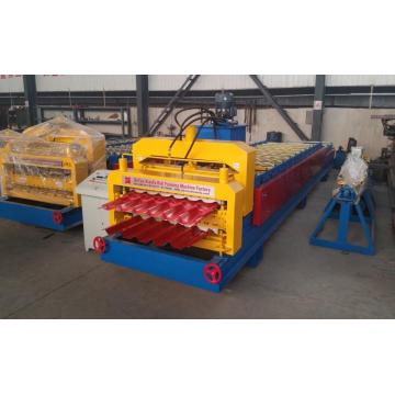 Profil Atap Ganda Panel Roll Forming Machine